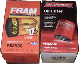 PH3980 oil filters - new