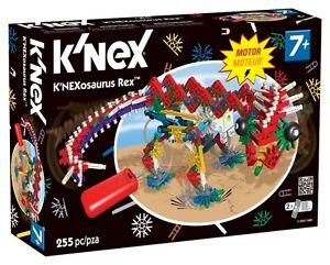 NEW: K'NEX Classics K'nexosaurus Rex Building Set
