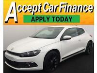 Volkswagen Scirocco GT FROM £46 PER WEEK!