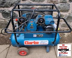 Clarke 110v compressor 50L 110v