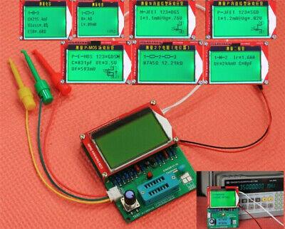 2020 Mega328 Transistor Tester Esr Frequency Lcr Diode Capacitor Meter Squarer