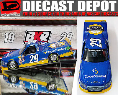 Chase Briscoe 2017 Cooper Standard Truck 1 24 Action