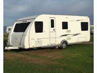 Stunning Example 2013 Adria Adora 612 DT Rhine 6 berth touring caravan w/ Motor Mover inc