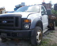 2009 Ford F-550 Super Duty XL Dually Dump Truck, diesel