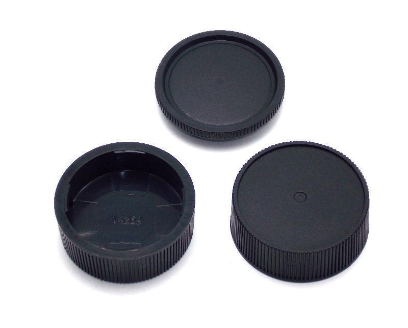 2  Leica M Rear Lens Caps 1 Body Cap Leica M  NEW