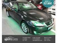 2009 Lexus IS 220d 2.2TD SE-2 Keys-10 Serv Stamps-MOT 02/18-1 Former K- 6 Speed