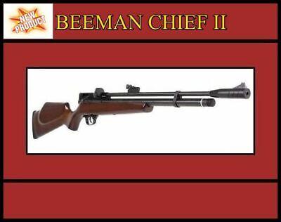 ⚡ Beeman 1328 Chief II .22 Cal 830 FPS Multishot Repeater PCP Air Rifle ⭐⭐⭐⭐⭐