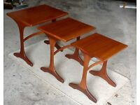 G Plan nest of coffee tables in Teak.....circa 1960s....lovely condition