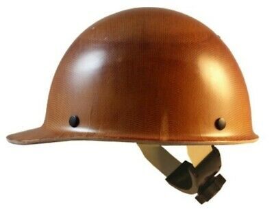 Msa Skullgard Cap Style With Swing Suspension - Natural Tan