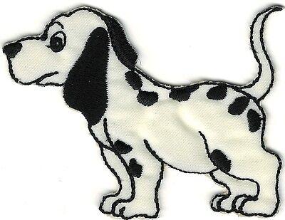 (Alert Cartoon Dalmatian Dog Embroidery Patch Applique)