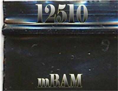 100 Pack Black 12510 Apple Ziplock Baggies 1.25x1.0 Mini Bags 2.5 Mil