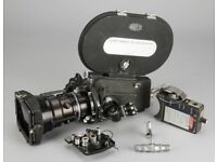 Arriflex 16BL 16mm Motion Picture Camera with Angenieux lens and more BARGAIN