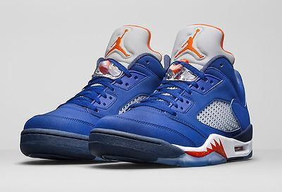 26f510096a2aa4 ... where to buy air jordan retro 5 low knicks nyc blue bred black 12 11  royal
