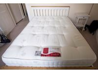 DOUBLE MATTRESS, POCKET SPRING, 2YRS OCCASIONAL USE