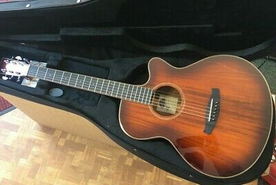 Tanglewood TW4 E KOA Electro Acoustic Guitar + Hard foam case