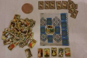Dolls house miniature Tarot Cards 1/12 scale with mat sale sale!