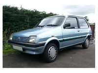 1989 Austin Rover Metro (MK2) Knightsbridge 1.3 (1275cc)21,000mls Mint PX Classic Motorcycle Harley