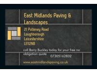 East Midlands Paving & Landscapes Block paving Driveway contractors Loughborough Leicestershire