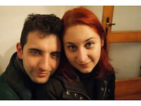 Young Italian couple looking for an apartment to share with students or other couples