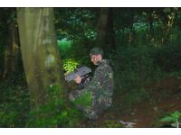 Business Sale/Rent. Infrared laser battlefield not paintball great woodland site. good customer base