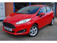 Fiesta 1.25 Zetec Very low mileage