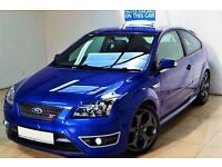 ABSOLUTELY STUNNING! (2007) FORD FOCUS ST-3 225BHP - 6 SPEED - FULL LEATHER RECARO SEATS - ST BLUE