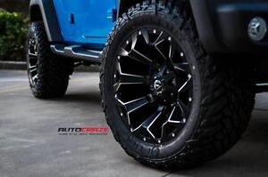 Fuel Assault 20x10 Inch Rims for Jeep Wrangler (5Rim + 5Sensors + 5 BFGoodrich KO2 Tires $3100 + Tax) Zracig 9056732828