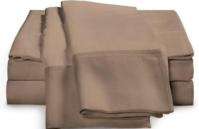 Luxor Style 100% Ägypten Baumwolle Blatt 1000tc Anliegend nur Schwarz Neu (1000 Tc Blatt)