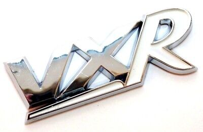 VXR Badge Matt Black Corsa D Astra H Boot Tailgate Opel Vauxhall Non Chrome