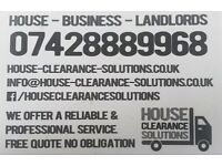MAN & VAN SERVICE - FULLY INSURED – PROFESSIONAL RELIABLE – REMOVALS & WASTE CLEARANCE 7 DAYS A WEEK