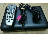 Sky HD multi room box complete with remote control and power lead