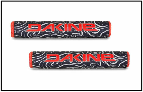 DAKINE ROOF RACK PADS, Round Padded Crossbar Rack Pads (2) Board Transport, Lava