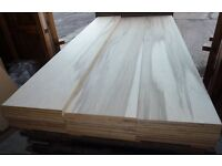 5 Pieces of NEW 18mm Exterior Grade Beech Hardwood Plywood 8ft x 16½in (2440mm x 420mm)