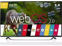 LG 49UF850v Ultra HD 4K Smart 3D LED TV With Built in Wi-Fi Freeview HD Freesat HD
