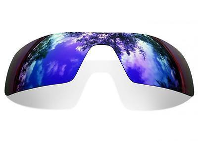 SURE Ersatzgläser für Oakley Oil Rig ( Polarisierte Purple Mirror Linsen )