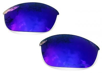 SURE Ersatzgläser für Oakley Flak Jacket ( Polarisierte Purple Mirror Linsen )