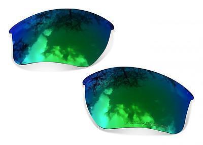 SURE Ersatzgläser für Oakley Half Jacket 2.0 Polarisierte Sapphire Green Linsen