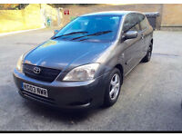 Toyota Corolla 2003 1.6 Automatic engine and gearbox very good
