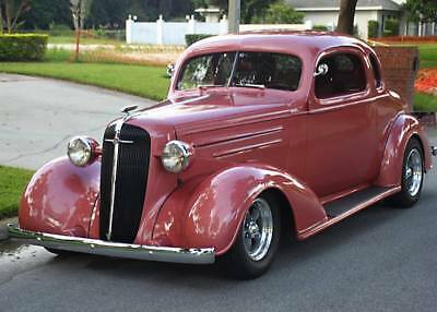 1936 Chevrolet Master Deluxe Business Coupe   All Metal   Ac   1K Mi Beautiful Nut And Bolt Restomod   1936 Chevrolet Hotrod Coupe   1K Mi