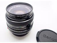 Canon 50mm FD 1.8
