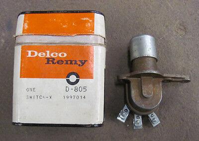 NOS 62 63 GMC DF Truck Headlight Dimmer Switch Delco 1997014 D-805 D805 DFW70