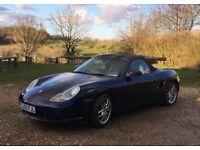 Porsche Boxster 2003 Grey Leather/Walnut interior, tiptronic 57000miles