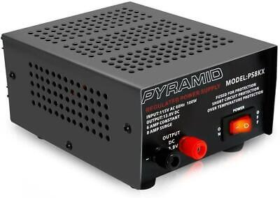 Universal Compact Bench Power Supply - 6 Amp Linear Regulated Home Lab .