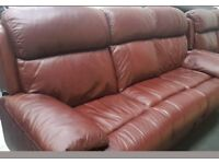 RECLINER LARGE SOFA. V.GOOD CONDITION