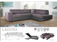 🌷🌷CLEARANCE STOCK MUST GO🌷🌷BRAND NEW LAGUNA SOFA BED🌷🌷AVAILABLE NOW🌷🌷