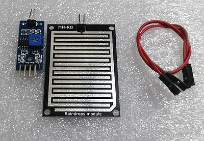 Rain Sensor Module Humidity Raindrop Weather Detection Module For Arduino