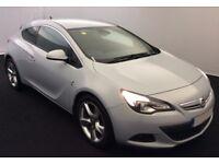 2013 VAUXHALL ASTRA GTC 2.0 CDTI SRI GOOD / BAD CREDIT CAR FINANCE AVAILABLE