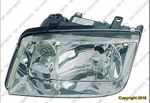 Head Light Passenger Side Without Fog Light(Gen 4 To Vin 2108641) Volkswagen Jetta 1999-2001