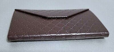 Gucci GUCCISSIMA Foldable Eyeglasses Case -Trifold Sunglasses CASE ONLY