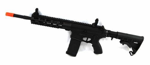 Tippmann Tactical Commando MSV Carbine 14.5 Inch Barrel HPA Airsoft Gun Black